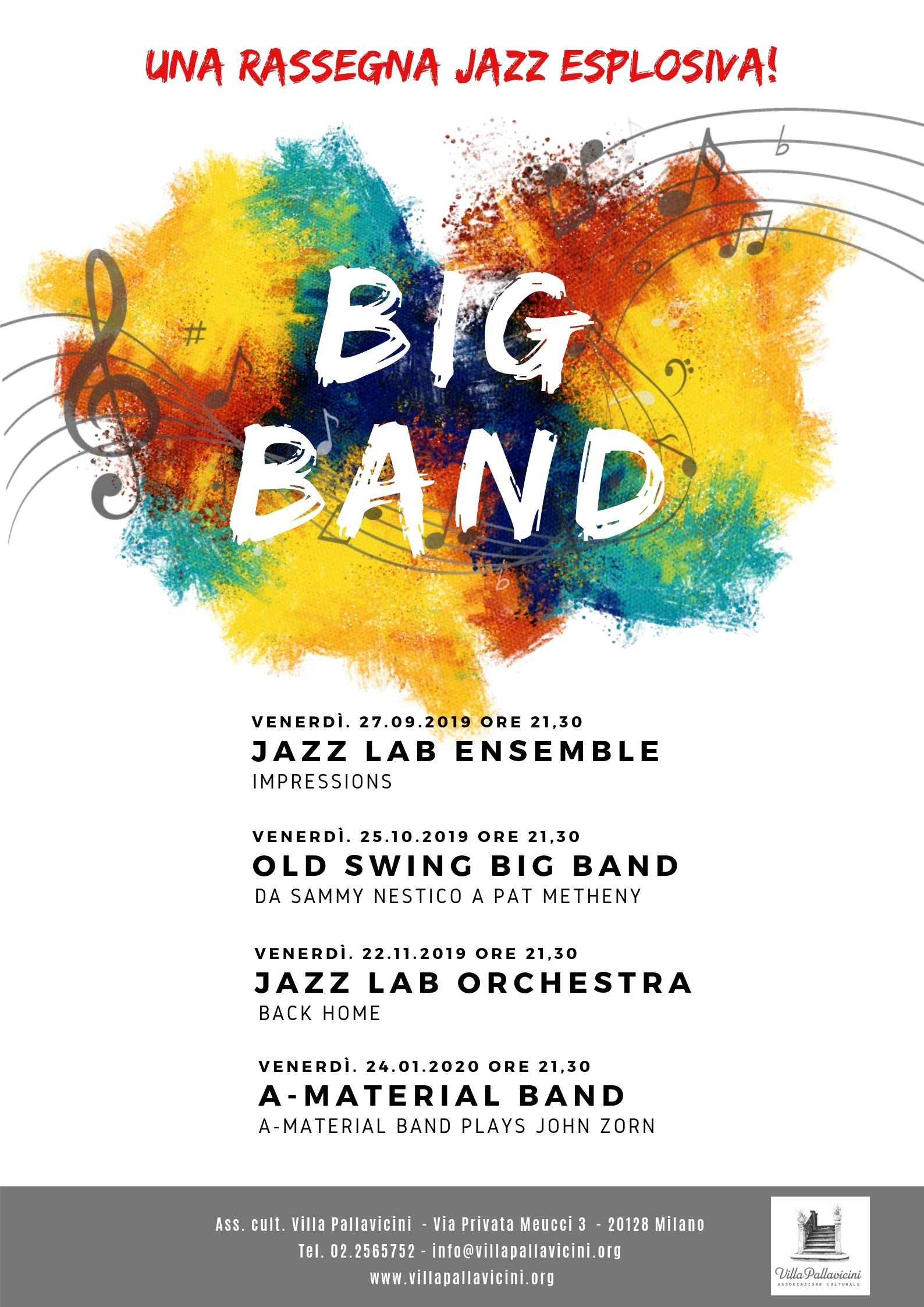 LOCANDINA A3 BIG BAND